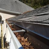 Clean gutters are very important in central Florida.