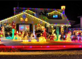 A few ideas to set up your Christmas Lights.
